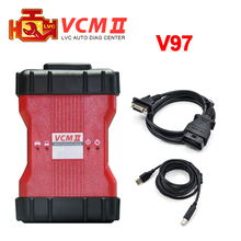 Hot Selling V98 VCM II 2 in 1 IDS Diagnosis tool For Fd / Mazda VCM 2 VCM2 OBD2 Scanner Single Green PCB DHL Free shipping(China (Mainland))