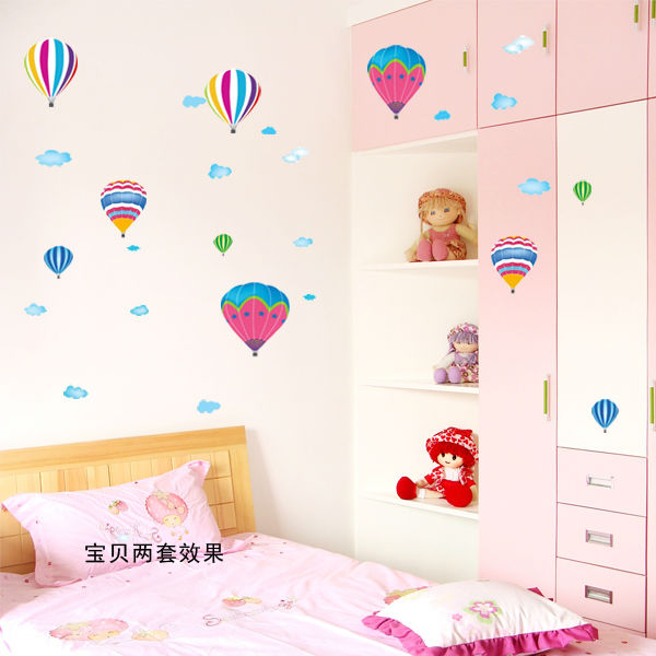 decoracao banheiro diy:para quartos de crianças decalques em parede diy espelho do banheiro