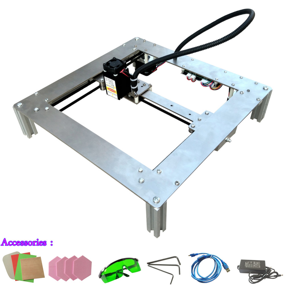 HBOT 300MW DIY Mini Laser Engraving Machine Cutting Plotter Engrave High Quality Two Color Optional(China (Mainland))