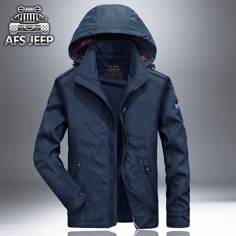 Rain Jacket NIAN JEEP Men's casual Outdoor Waterproof Breathable jacket Mesh Sheet men sport and travel Jacket male hooded Coat(China (Mainland))