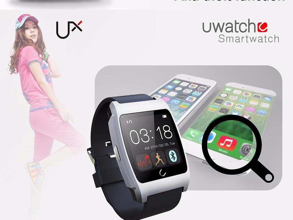 ถูก Flovemeอัตราการเต้นหัวใจsmart watch pedometerสมาร์ทนาฬิกาสปอร์ตd6นาฬิกาข้อมือสำหรับapple samsung ios a ndroid p honeอุปกรณ์สวมใส่
