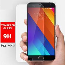 0.3mm Ultra Thin Meizu MX5 M5 Tempered Glass Film 100% Original 9H 2.5D Screen Protector explosion-proof Film For Meizu MX5 5.5
