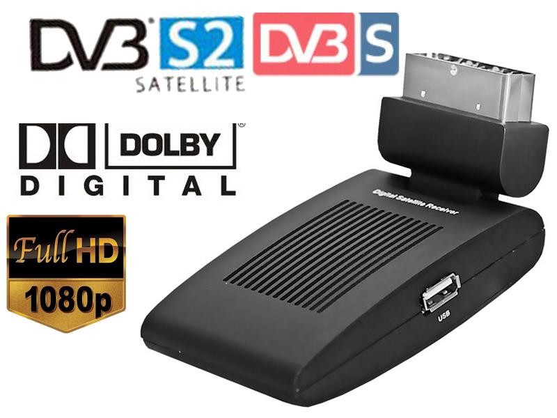 Mini scart SAT free satellite tv channels receiver dvb-s2 dvb s2 satellite receiver HD DVB-S2 Digital TV Satellite Receiver(China (Mainland))