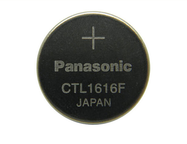 New Original Solar CTL1616 CTL1616F Watch battery for Panasonic Rechargeable for BATTERY Capacitor Free Shipping