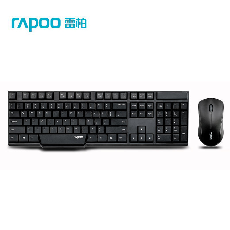 Rapoo 8130+ Multimedia 2.4G Wireless Slim Laptop Notebook Keyboard & Mouse Combos Brand Quality Free Shipping(China (Mainland))