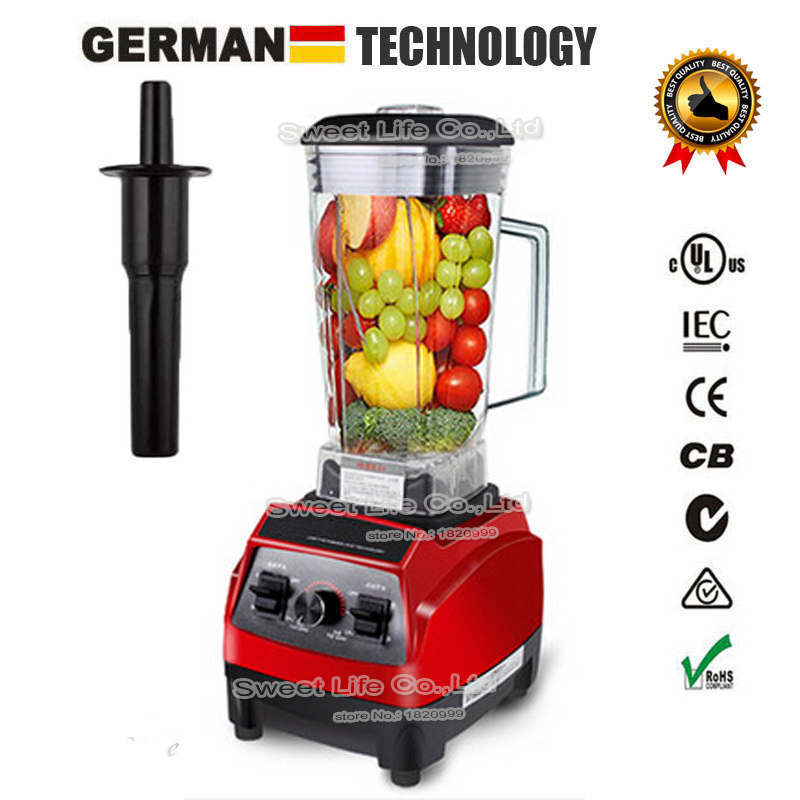3HP BPA FREE heavy duty commercial quality professional high power smoothie blender food stand mixer juicer ice fruit processor(China (Mainland))