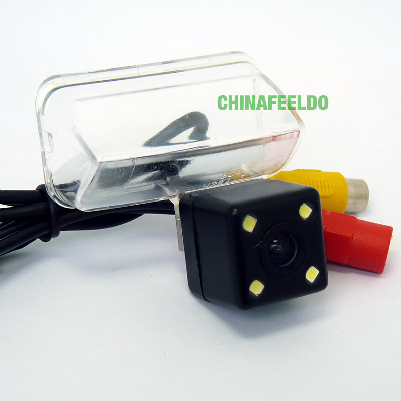 CCD Rear View Car Camera with LED light for PEUGEOT 206/207/307(Sedan)/307SM/308/407/Picasso<br><br>Aliexpress