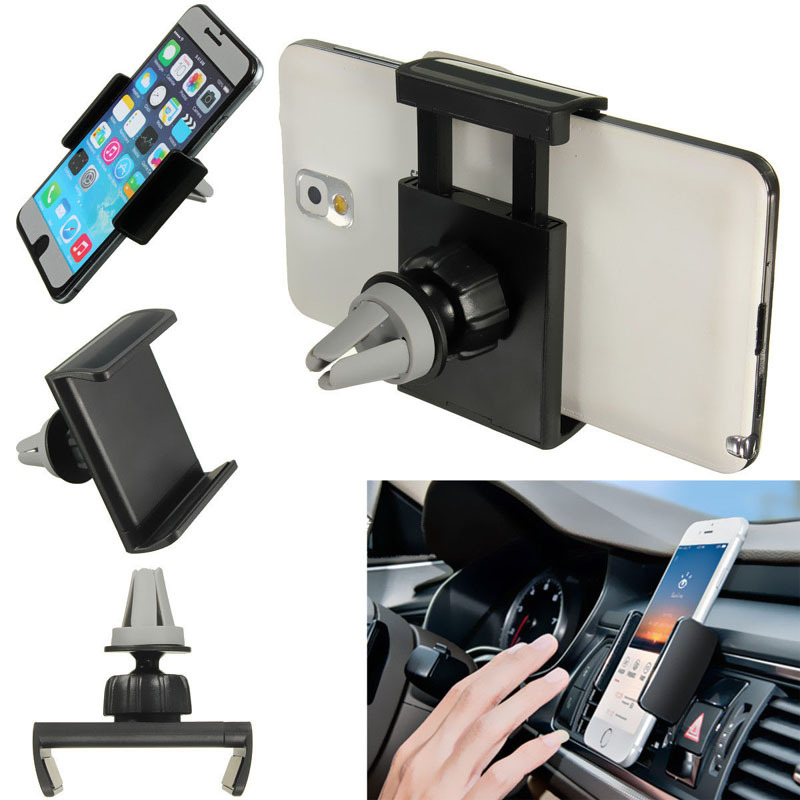 Top Quality Universal Car Air Vent Mount Cradle Cell Mobile Phone <font><b>Stand</b></font> <font><b>Holder</b></font> For iPhone 6 6 Plus Phone GPS for Sony for htc