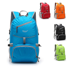 Nylon folding waterproof Backpack Bike rucksacks Packsack Road cycling bag Knapsack Riding running Sport Backpack Ride pack(China (Mainland))