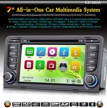 7″ Car 2-Din DVD Player GPS WiFi 3G VMCD DVR-IN DTV-IN iPhone4/5 A3 S3 Autoradio Car Stereo Radio WBT7683A