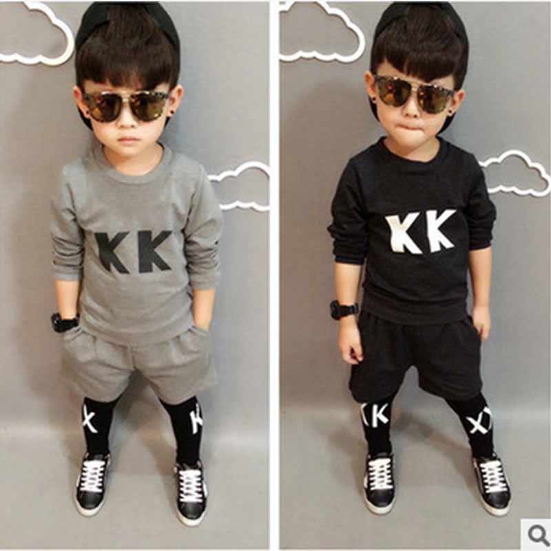 2016 autumn kids sport suit girls sport suit font b boys b font font b clothing