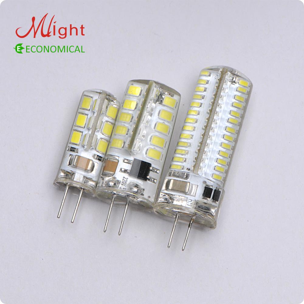 Гаджет  5pcs LED G4 Lamp Bulb 3014SMD DC 220V 2W 3W 4W LED Lighting Lights replace Halogen G4 for Spotlight Chandelier None Свет и освещение