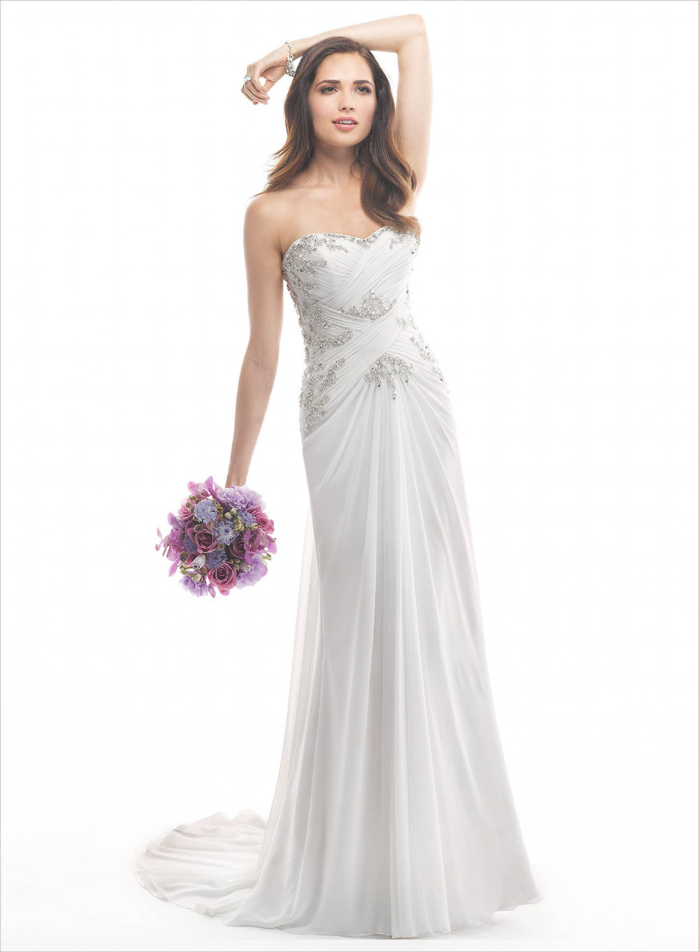 2015 hot selling charming white wedding dress bride for Selling your wedding dress