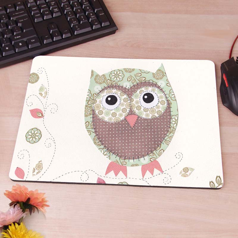 Owl New Anti-Slip Mouse Pad PC Game Gaming Mouse Pad(China (Mainland))
