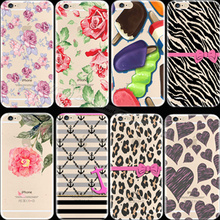2016 Best Quality Pattern Love Heart Silicon Phone Shell Cover For Apple iPhone 6 iPhone 6S iPhone6 iPhone6S Case Cases YH UW WP