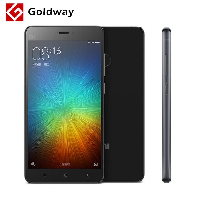 """Оригинал Xiaomi Mi4s 64 ГБ 4 г FDD LTE мобильный телефон 5.0 """" 1920 * 1080 P Snapdragon 808 Hexa 3 ГБ RAM 13MP отпечатков пальцев ID MIUI 7"""