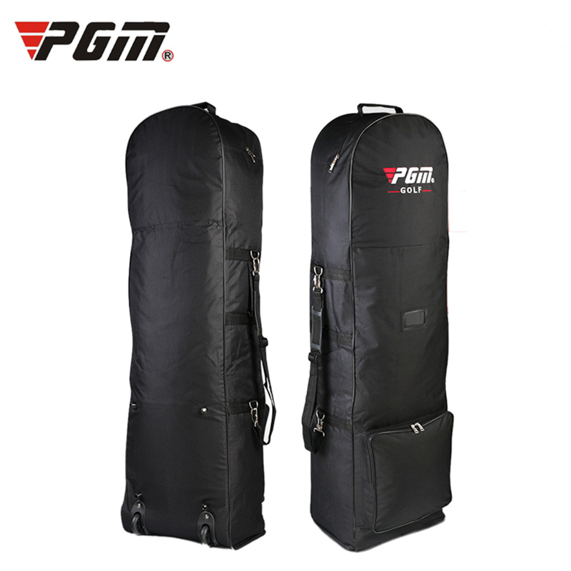 Hot Sale Original PGM Brand Golf Bag Foldable Air Golf Bag with Pulley Single-layer Consignment Waterproof Golf Bag Aviation Bag(China (Mainland))