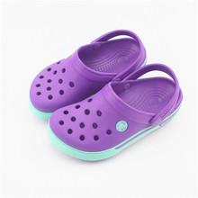 Kid Croc bande chaussures, Caoutchouc clog pour enfant, Enfants mules clog sandal, Enfant chaussures de jardin(China (Mainland))