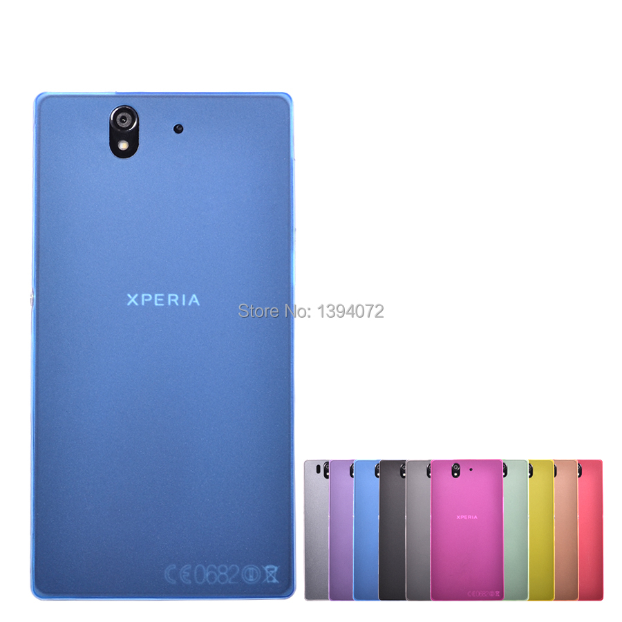 0.3mm Ultrathin Transparent Protector Case Cover Hard Back Housing Shell Phone Bag For Sony Xperia Z L36H(China (Mainland))
