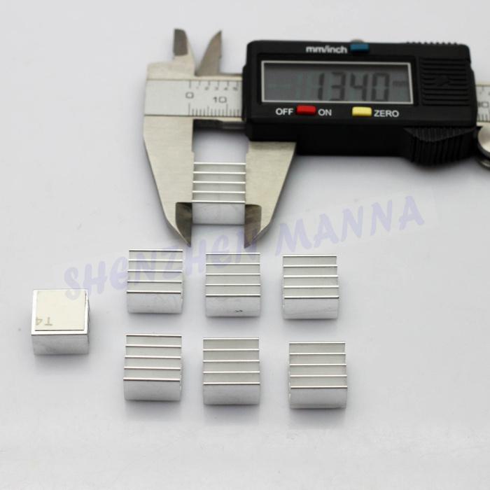 Aluminum Cooling Shim Pad Thermal CPU GPU VGA RAM Heat Sinks Spreader Memory Cooler For RAM 24pcs/lot FREE SHIPPING(China (Mainland))