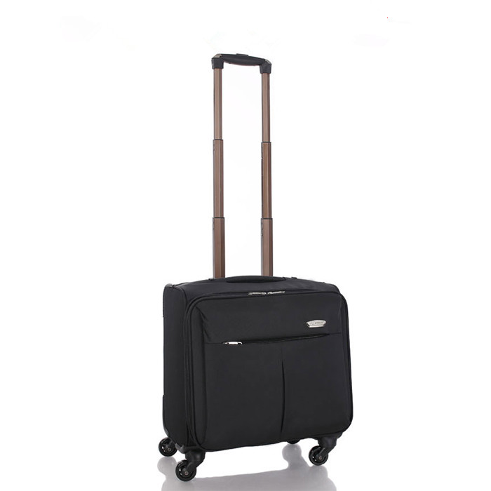 New Men Women Business Luggage Draw-bar case/box/frame Trunk boarding case pull-rod case 16 inch Spinner Rolling travelling case<br><br>Aliexpress