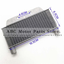 Oil Cooler radiator Dirt pit monkey bike Off-road motorcycle ATV refires accessories fuel hose spare parts(China (Mainland))