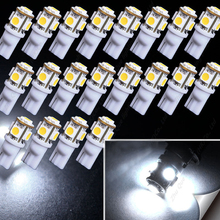 All-new Auto led lights 1PCS x T10 W5W 5smd 5050 Clearance bulbs Car LED Lamps 194 168 For all Car models &Free shipping(China (Mainland))