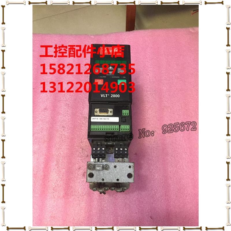 Danfoss frequency converter VLT2800 VLT2807PT4B20STR0DBF00A00 0.75 KW 380 v(China (Mainland))