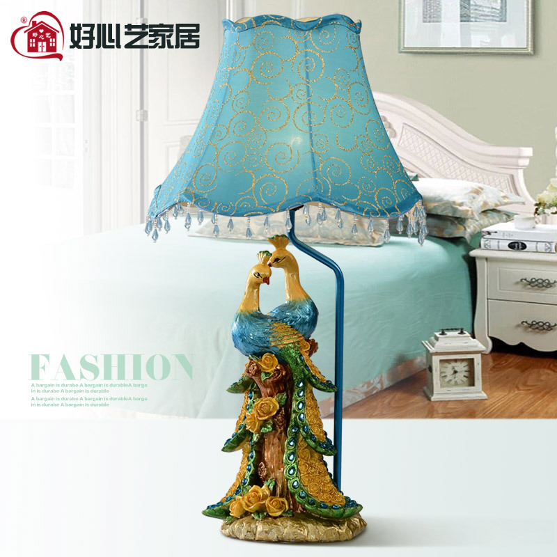 Фотография Table Lamp Lampshade Desk Lamp Night Light Table Bedroom Bedside Lamp For Living Room