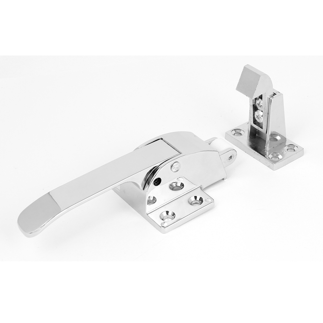 Adjustable Latch Spring Loaded Walk In Freezer Cooler Door Handle Grip Hardware<br><br>Aliexpress