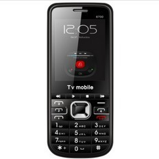 2013 TV Cell phone 6700 2.2'' MTK5118 1.3M camera 4 card 4 standby unlocked cell phone Free shipping(China (Mainland))