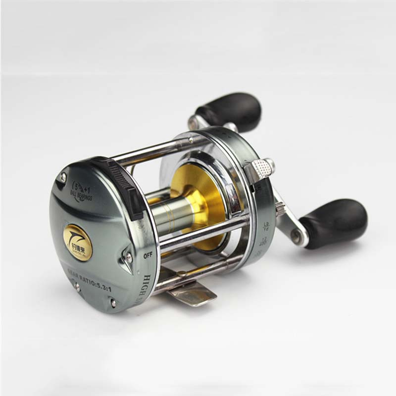 BNT Casting Drum Type Reel Saltwater Pesca Boat Fake Bait Casting Aluminum Fishing Reel(China (Mainland))