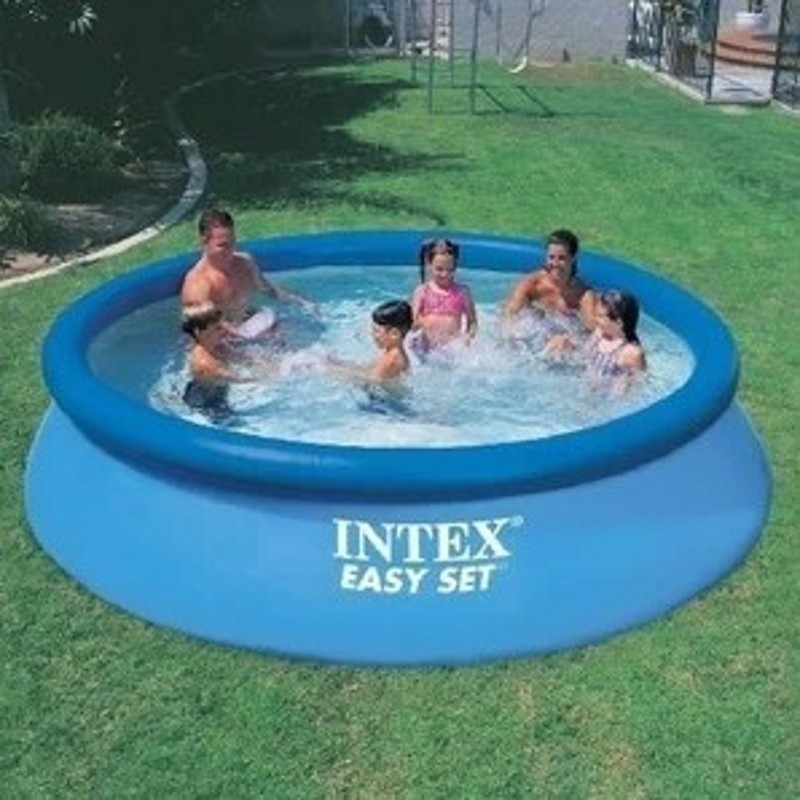 Infos sur piscine gonflable familiale ronde arts et for Piscine gonflable intex ronde