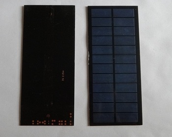 HOT Sale ! Mini Solar Cell 2W 18V Solar Panel For Battery Charger DIY PET Polycrystalline Solar Module 2pcs/lot Free Shipping