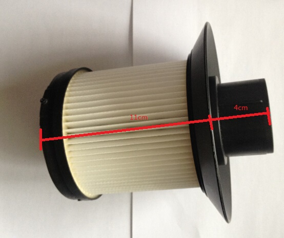 big cylinder vacuum clean parts hepa fiter height 15cm(China (Mainland))