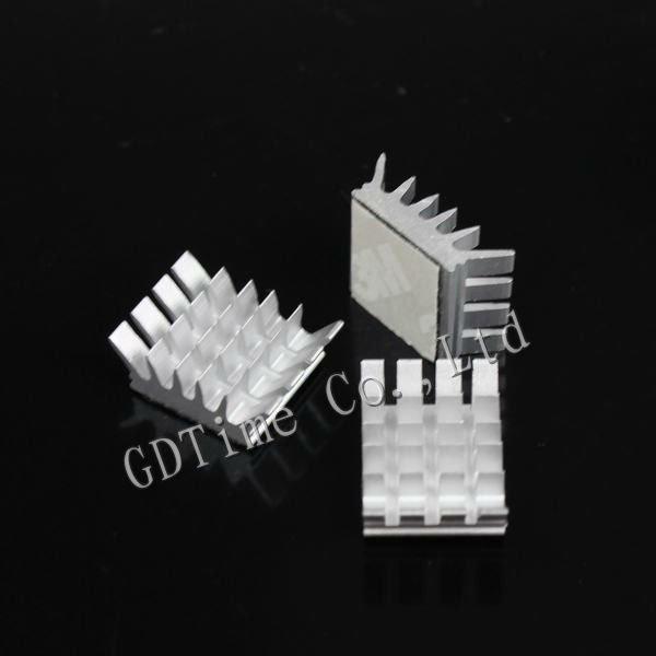 10PCS Lot Computer Xbox360 PS VGA Graphics Card DDR RAM Video Memory Cooling Cooler Aluminum Heatsink(China (Mainland))