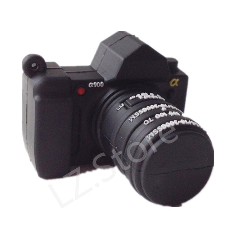 Wholesale Pen Drive Cartoon camera photo usb pen driver 4GB 8GB 16GB 32GB 64GB Camera Usb Flash Drive Pendrive Free Shipping(China (Mainland))