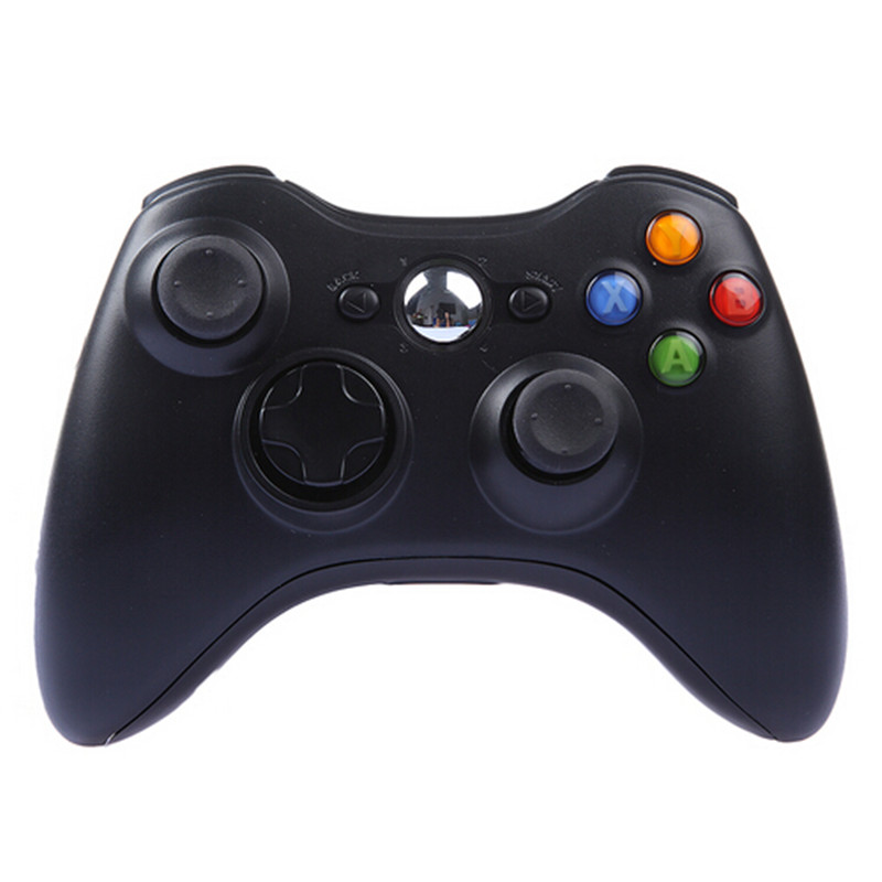 Wireless Gamepad Remote Controller For XBOX 360 Wireless Controller Black Joystick for XBOX 360 Game Controller(China (Mainland))