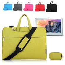 Colorful Shockproof Women Men Laptop Messenger Shoulder Bag Carry Case Sleeve Briefcase for Apple Macbook Air/ Pro 11 12/ 13/ 15