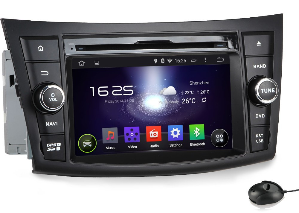 Double din car stereo with built in bluetooth 10
