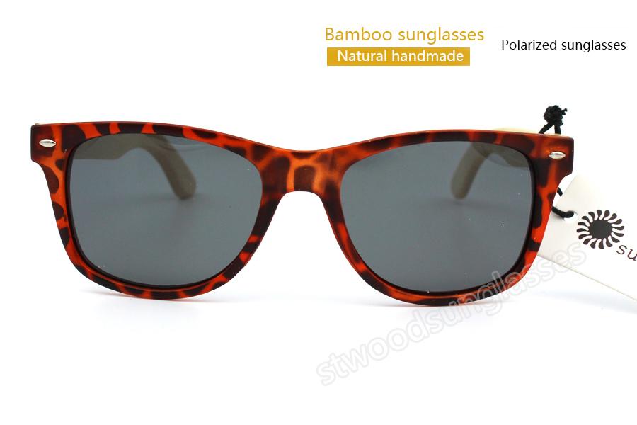 2015 High quality classic summer style beach sunglasses women ok sunglasses men modern bamboo sunglasses with free shipping(China (Mainland))