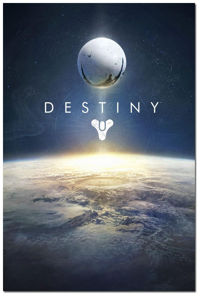 Hot Shooting Game Destiny Art Silk Poster Print 12X18