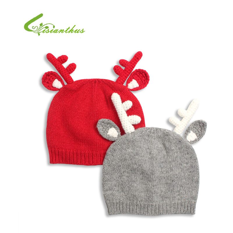 Knitting Pattern For Reindeer Hat : Knit Reindeer Hat Reviews - Online Shopping Knit Reindeer Hat Reviews on Alie...