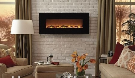 G 01 Wall Hanging Fake Electric Fireplace Decor Flame Electric Fireplace Heater In Electric
