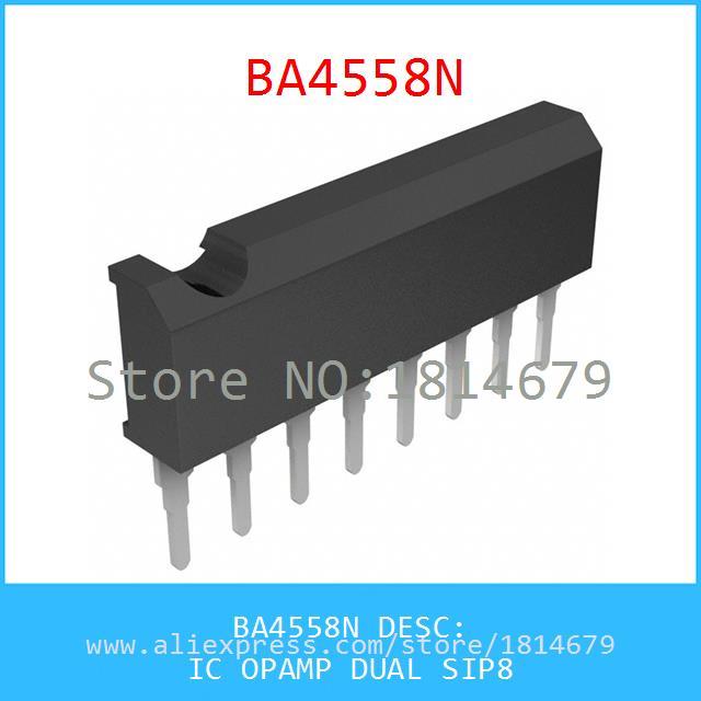 Diy интегральные схемы BA4558N