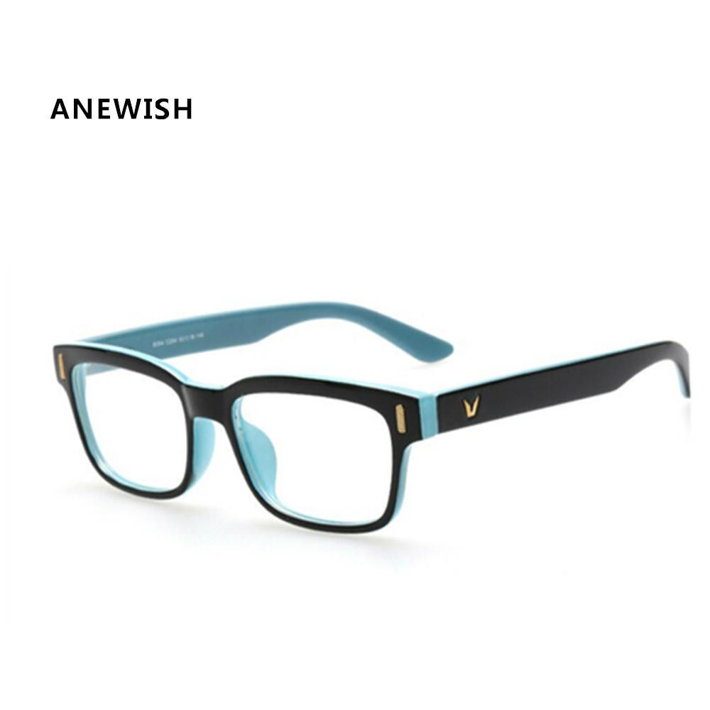 Glasses Frame Logo : Aliexpress.com : Buy ANEWISH Fashion V Shaped Logo Brand ...