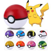 7cm Pokemon Pokeball ABS Figures Japanese Hot Anime Pokemon PokeBall Toys Cosplay Collections Gifts Pokemons Cute Pokeballs(China (Mainland))