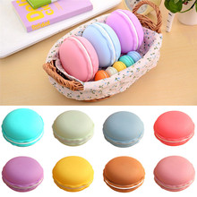 Best Price 1pc Earphone SD Card Macarons Bag Big Storage Box Case Carrying Pouch(China (Mainland))