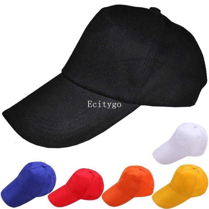Fashion New Mens Womens Basic Plain Blank Adjustable Baseball Snapback Hat Golf Unisex Cap 6 ColorОдежда и ак�е��уары<br><br><br>Aliexpress