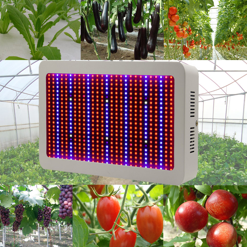 Full Spectrum 600W LED Grow Light Red+Blue+UV+IR AC85~265V Led Plant Lamps Best For Hydroponics Vegetables and Flowering Plants(China (Mainland))